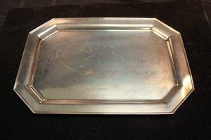 414: Redlich Sterling Silver Platter Tray  Octagon