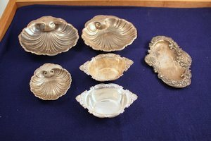 1: 6 Sterling Silver Articles - Gorham Bowls
