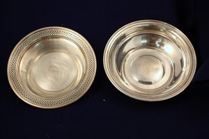 5: Pair Sterling Silver Bowls