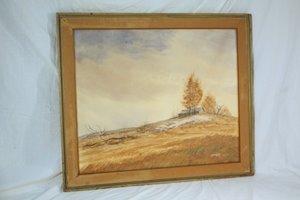 107: Bill Ely CT Artist Landscape Watercolor