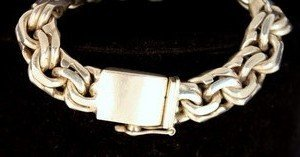 10: Taxco Mexican Sterling Men's Bracelet
