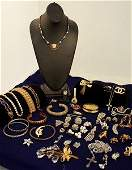 221: Large Lot Costume Jewelry