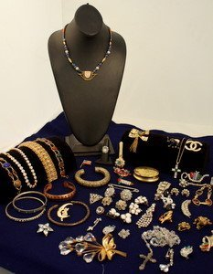 221: Large Lot Costume Jewelry