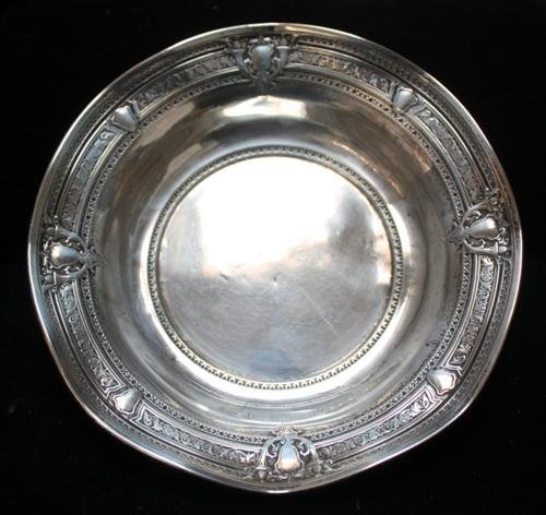 5: Webster Sterling Silver Bowl w/Intricate Detail