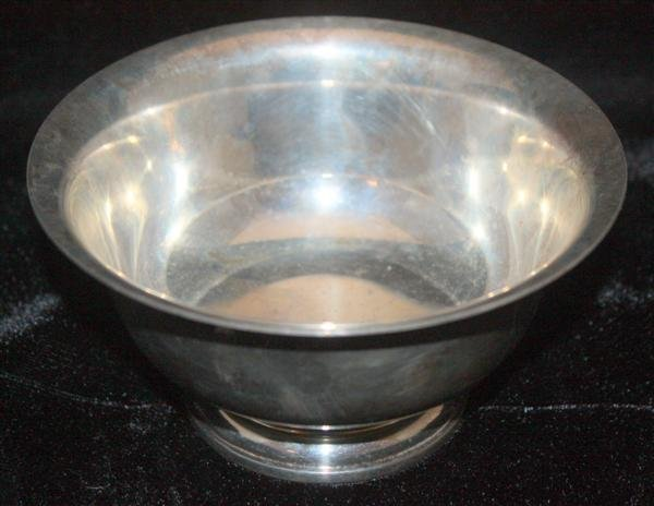 15: Georg Jensen US Sterling Silver Bowl