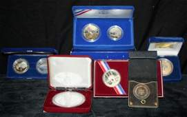 26 6 Silver Proof Coin Sets Olympic Princess Di