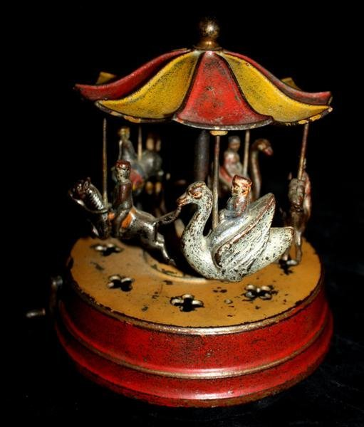 123: Kyser and Rex Merry-Go-Round Mechanical Bank