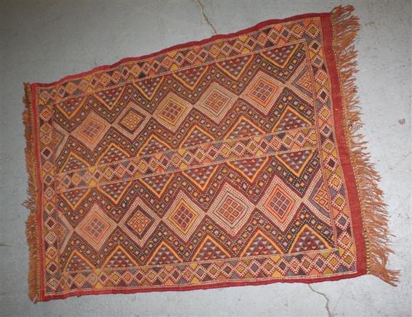 4: Pre-1930s Small Persian Rug