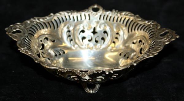 11: Gorham Pierced Sterling Silver Bon Bon Dish