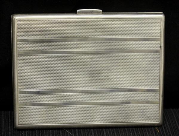 17: Sterling Silver Cigarette Case
