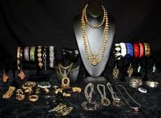 376: Vintage Costume Jewelry Lot #4