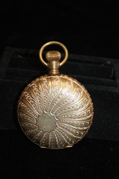 16: Elgin Sun-Dial Ladies Pocket Watch