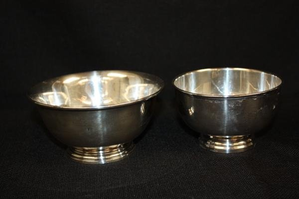 2: 2 Sterling Silver Bowls