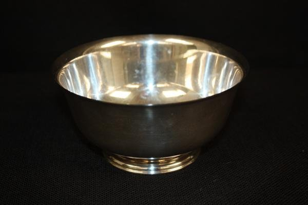 11: Steiff Sterling Silver Trophy Bowl