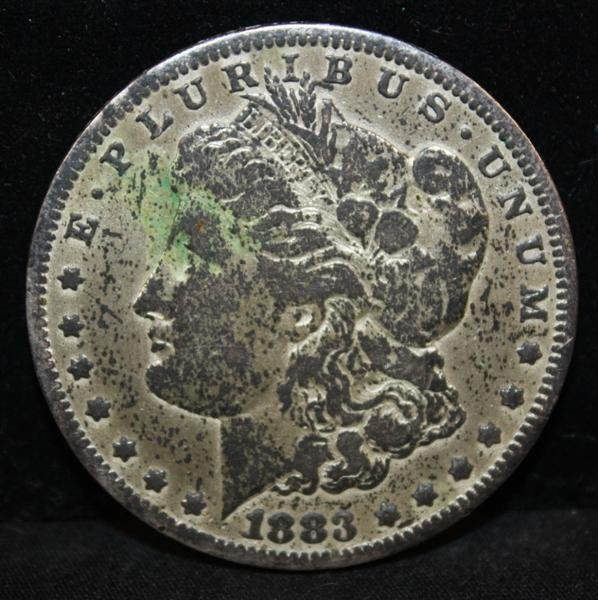 20: 1883 Carson City Morgan$ VG Cleaned? Key Date