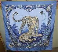 184: Hermes Silk Scarf Jungle Love