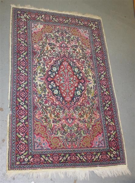 1: Persian Rug 1: Mid 20thc Area Rug