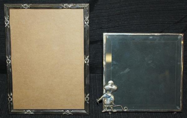 8: Tiffany Sterling Picture Frame + Sterling Frame