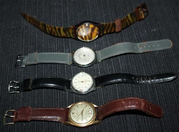 24: Mens Watches: Buhre Bouchard Lenga Swatch