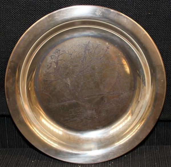 4: James Wyeth Sterling Plate Along the Brandywine