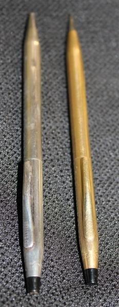 6A: Tiffany Sterling Silver Pen + Cross Century Pencil