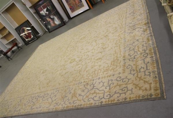 1: Custom Made Room Size Wool Carpet