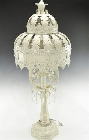 A ANGLO-INDIAN DESING FLOOR LAMP
