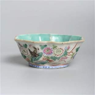 A Chinese porcelain Tongzhi bowl
