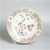 A Large chinese porcelain yong zheng plate
