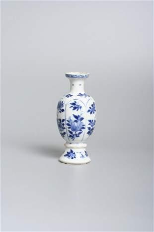 A Chinese porcelain gourd vase, Kangxi period
