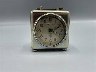 A small German travel clock