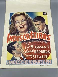 A Belgium movie poster