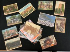 Lots of vintage postcards from the 1930s through the