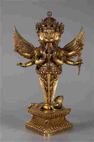 """A IMPLEMENT VAJRA """"JUE"""" FOR BUDDHIST RITE"""
