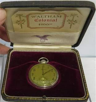 Waltham Pocket Watch, 14K