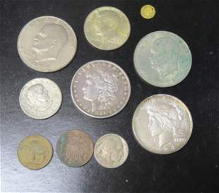 Lot American coins