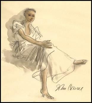 John Carroll - Seated Woman