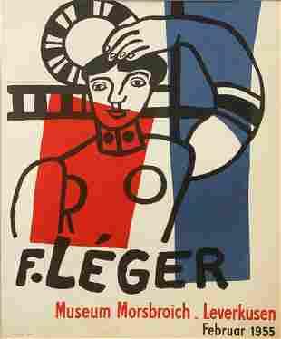 Ferdinand Leger - Ferdinand Leger Exhibition Poster