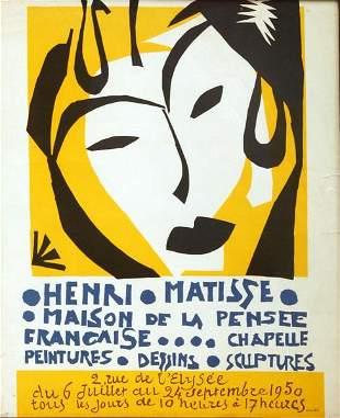 Henri Matisse - Henri Matisse Exhibition Poster