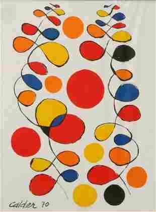 Alexander Calder - Abstract Colorforms