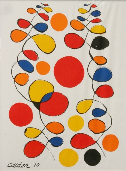 15: Alexander Calder - Abstract Colorforms