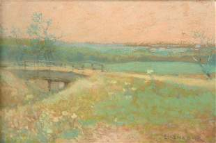 Edward Gustav Eisenlohr - Summer Bridge