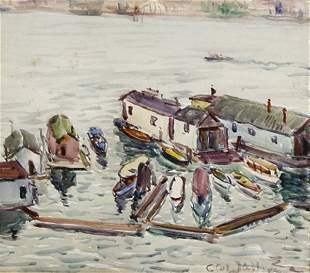 Carl Walters - Harbor Scene