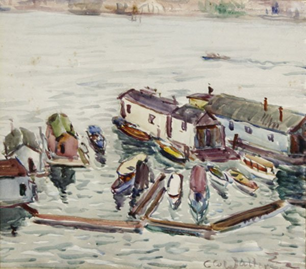 24: Carl Walters - Harbor Scene