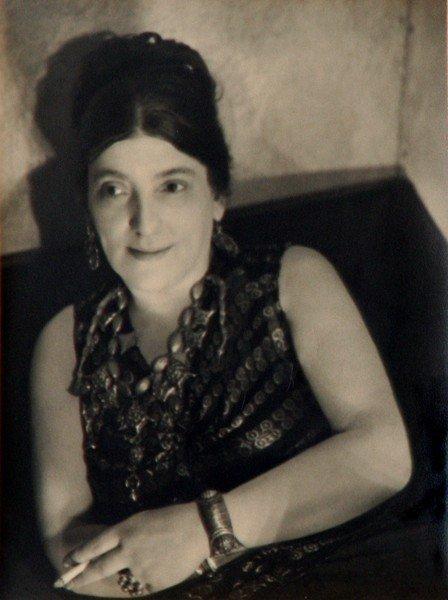 42: George Platt Lynes - Portrait Romany Marie