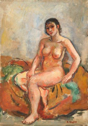 Bernard Karfiol - Female Nude
