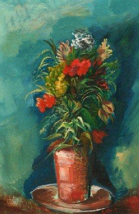 Frederic Taubes - Still Life-Flora