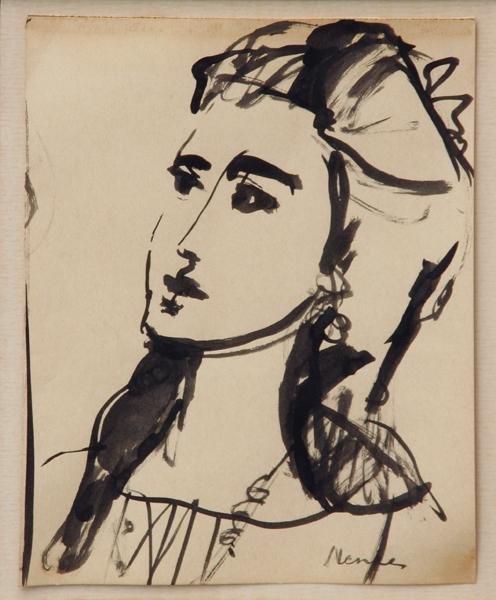 97: Sigmund Joseph Menkes - Study of a Woman