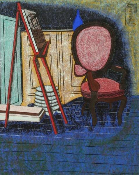 101: Oronzo Vito Gasparo - Artist's Studio-Interior