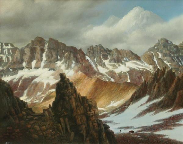102: Thomas Locker - Spine of the Earth